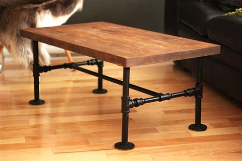 Diy Wooden Pipe Table